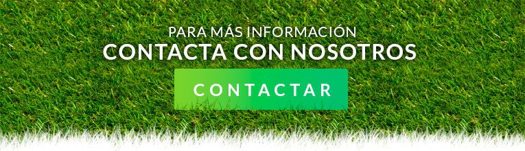 Banner contacta con Intercesped